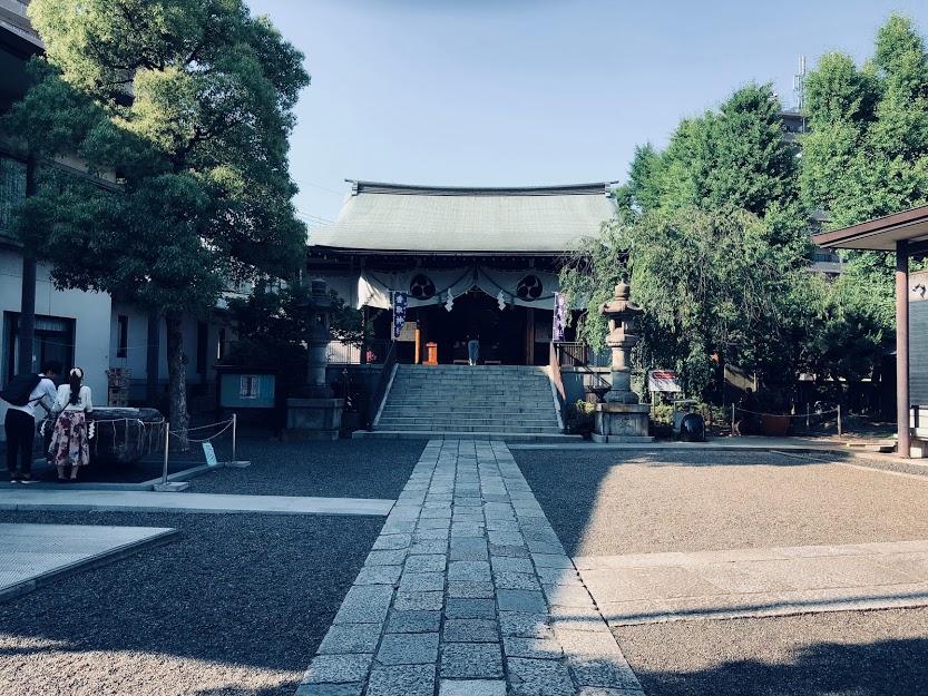 亀戸香取神宮本堂