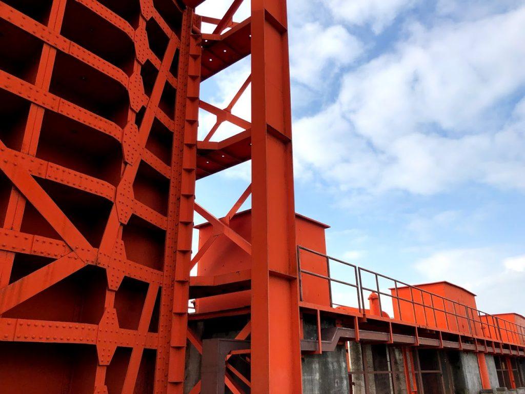 旧水門の通称は赤水門