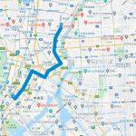 東京マラソンのコースが試走できる銭湯(25~30km付近)