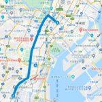 東京マラソン2021のコースが試走できる銭湯(30~35km付近)